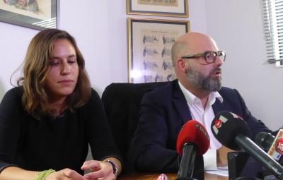 Maîtres Stéphane Giuranna et Laure Iogna-Prat, les avocats de Marcel Jacob.
