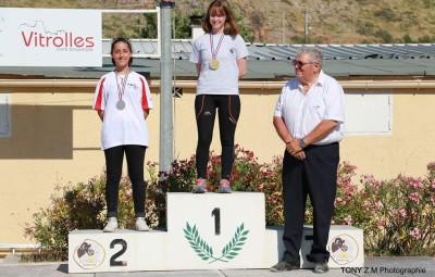 Zoé Bégic médaille d'argent au veterli ch de France 2017