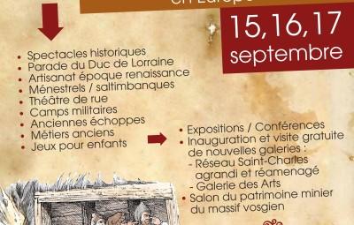 affiche 400e anniversaire poudre noire Le Thillot