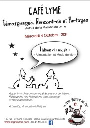 cafe LYME 4 octobre