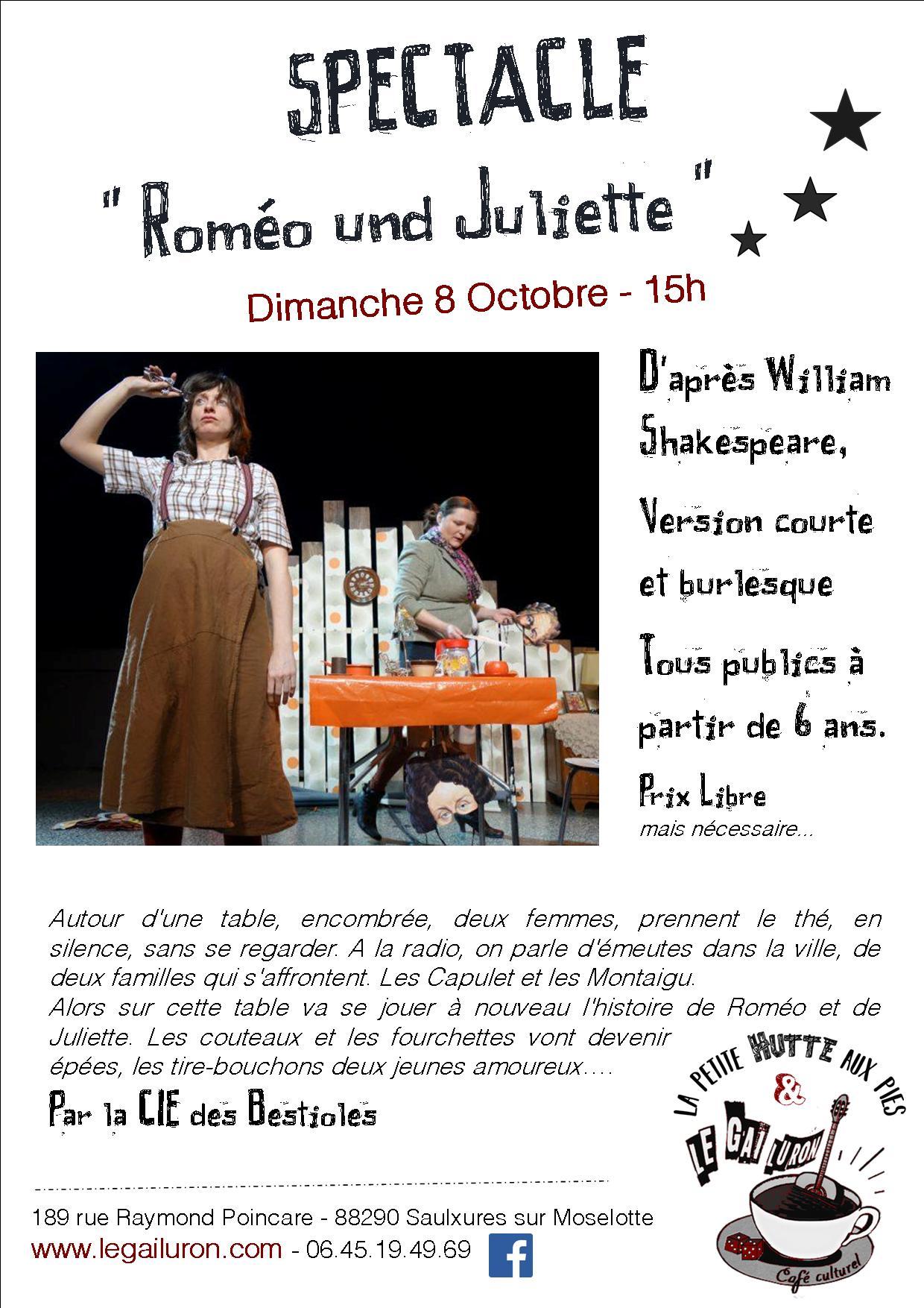 spectacle Romeo und juliette