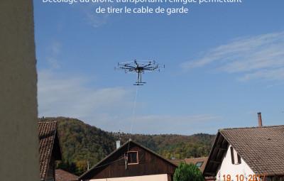 11 Drone en l air