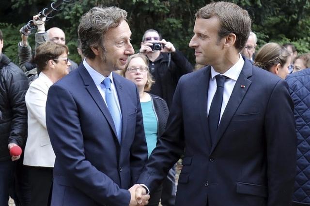 Stéphane Bern est un proche du couple Macron.