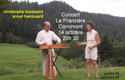 Concert Christophe TOUSSAINT le 14 10 17