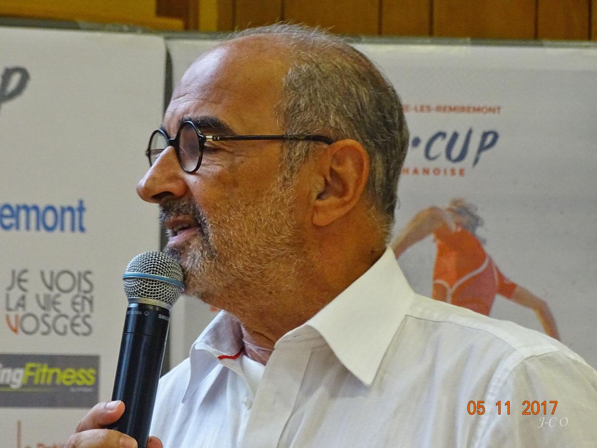 Michel Demange plébiscité pour rester à la présidence de la communuaté de communes de la Porte des Vosges Méridionales.