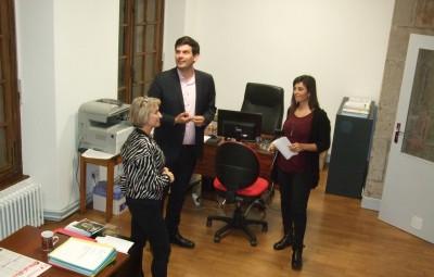 Visite des nouveaux locaux affectés au service Animation et Vie Associative (AVA)