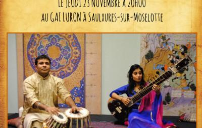 concert musique indienne