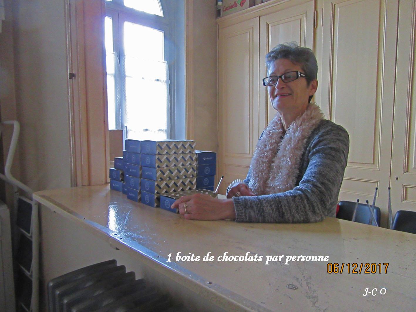 03 Distribution des chocolats