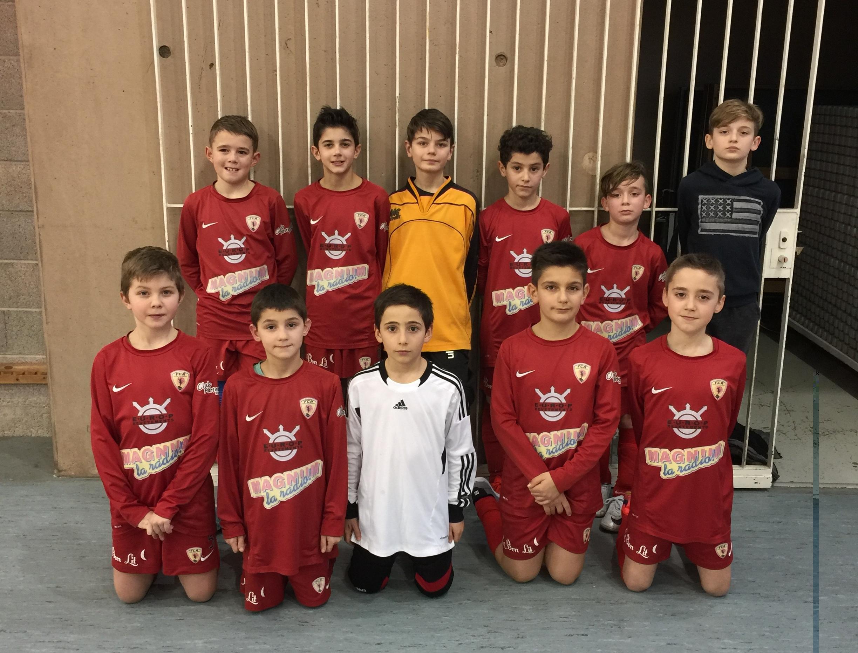 Deux équipes U11 ont participé au tournoi de Raon-l'Etape.