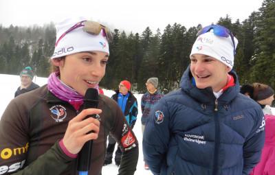 Les premiers Jeux Olympiques de Delphine Claudel et Antoine Gérard.