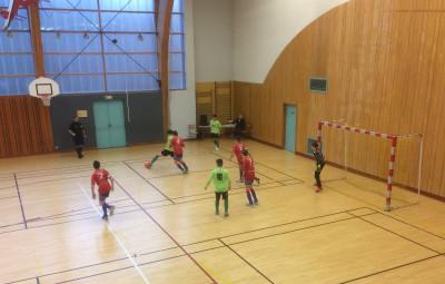 Les U15 joueront la finale départementale avec Le Tholy le 18 février prochain à Saint-Michel-sur-Meurthe suite à leurs qualifications ce samedi à la salle polyvalente où le FCS organisait le premier tour éliminatoire.