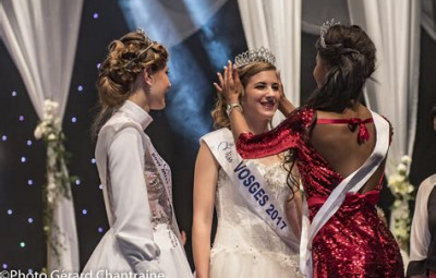 Miss Vosges 2017. (Photo Gérard - Chantraine)
