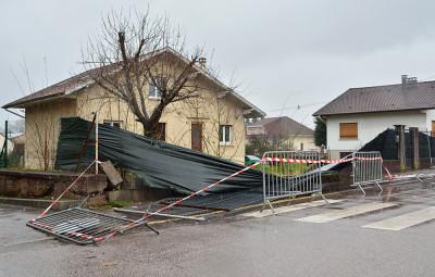 Tempête_Eleanor_SDDV (8) La tempête Eleanor a entraîné un certain nombre de dégâts à Saint-Dié-des-Vosges.