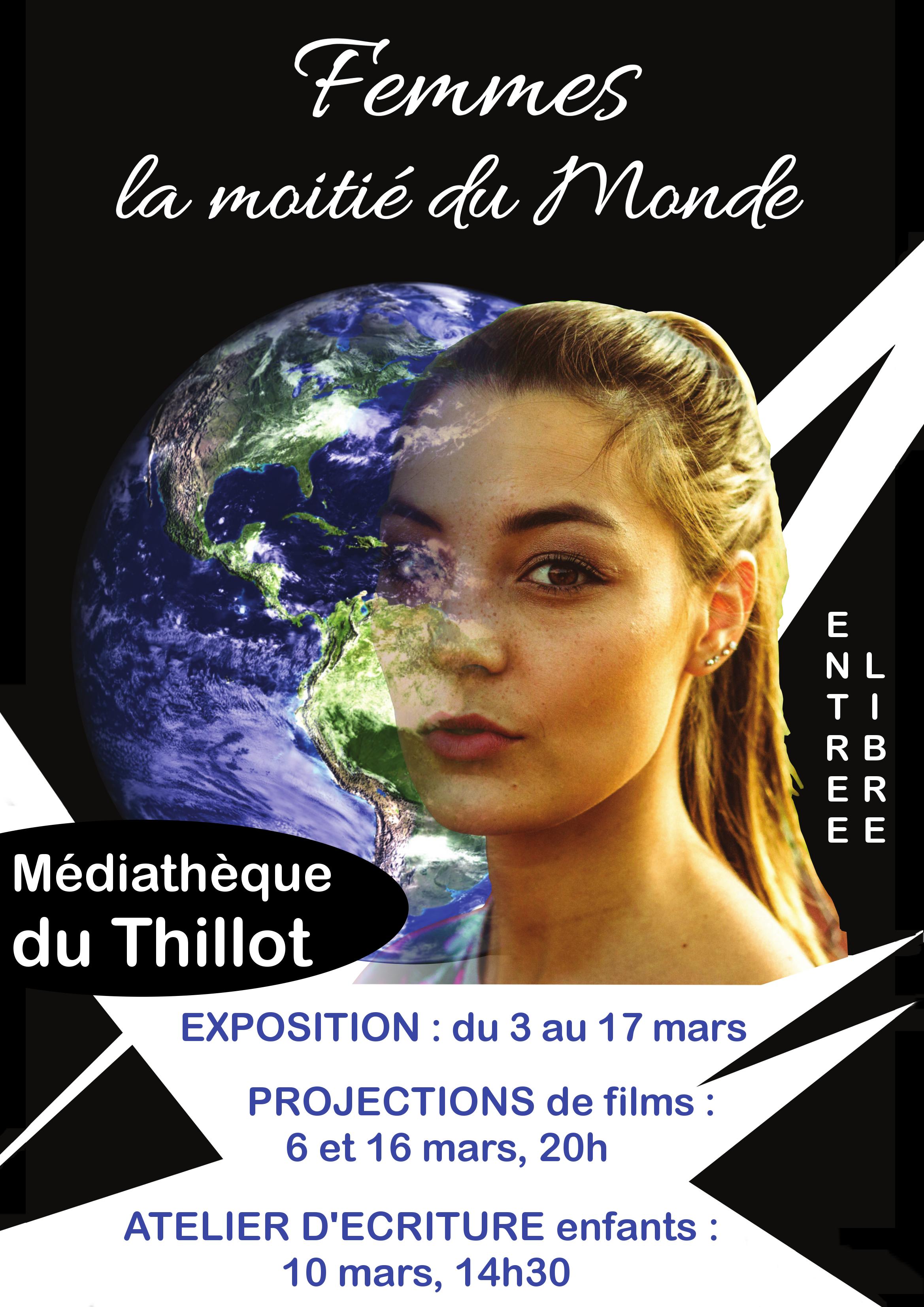 Affiche expo Femmes