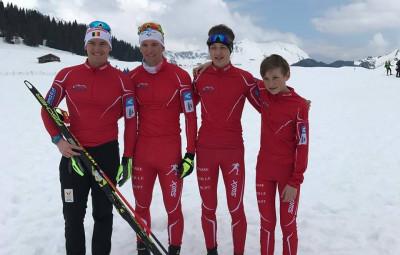 L'équipe du Basse-sur-le-Rupt Ski Nordique.