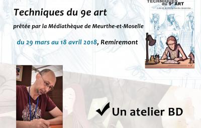 Affiche expo +  atelier