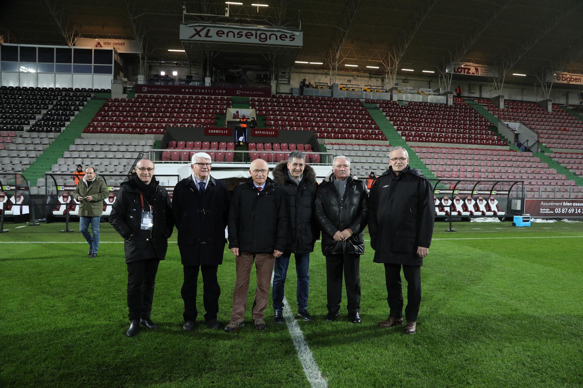 Conférence de presse _Tribune Sud stade Saint-Symphorien_ 1