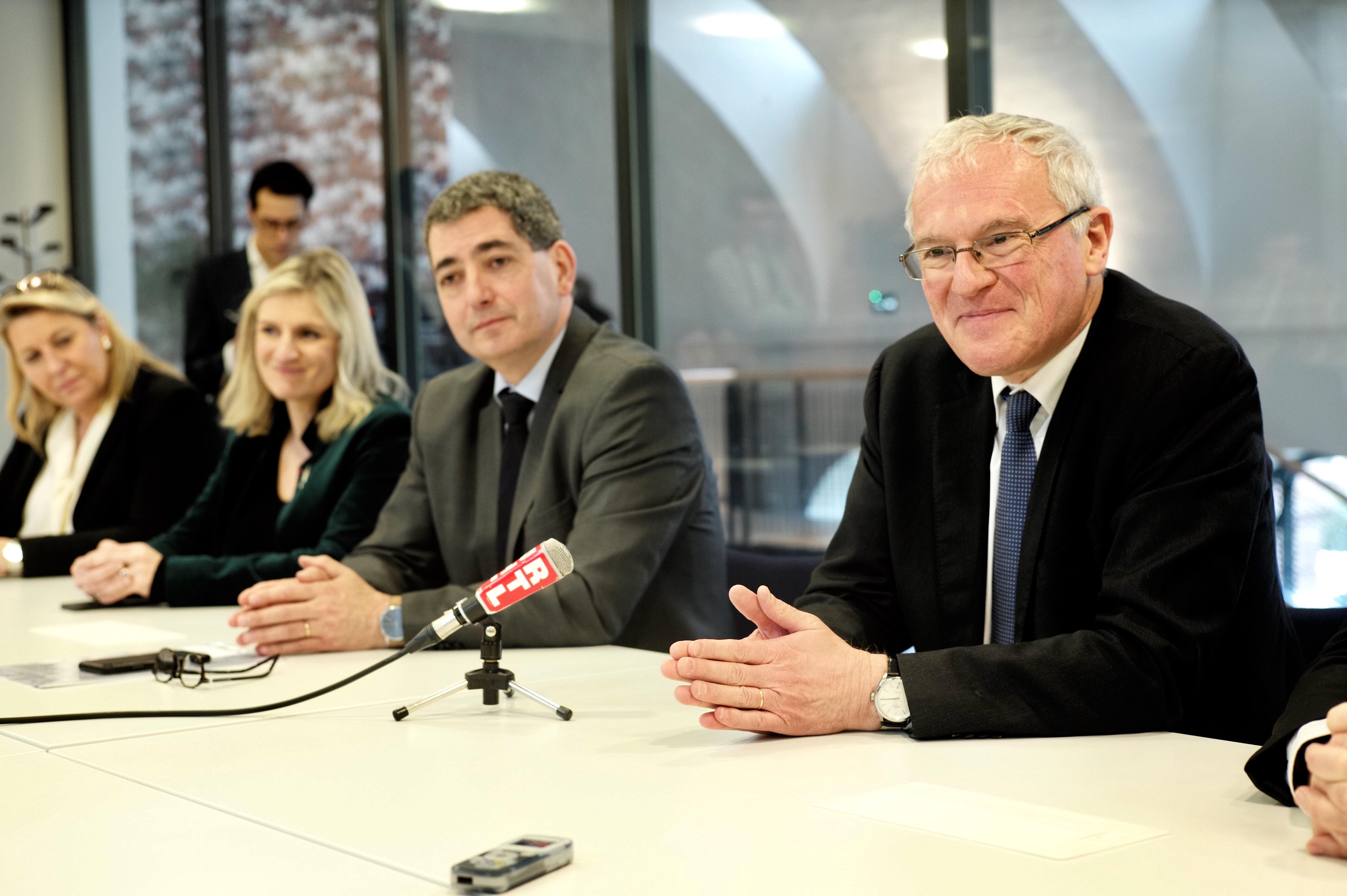 Jean Rottner et Jean-Bernard Lévy (EDF)