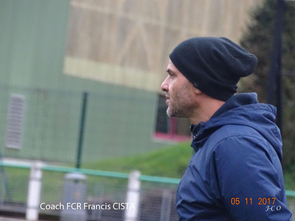 Qualification sans jouer pour Francis Cista et le FCR.