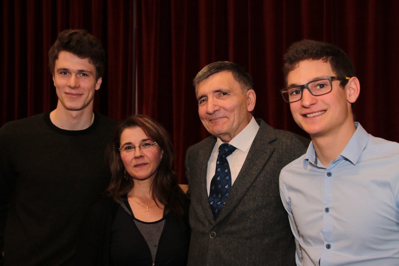 Clément Noël; Catherine Biegalke, Jean-Claude Dousteyssier et Antoine Gérard.