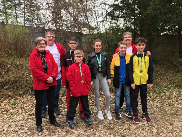 Au championnat des Vosges EDT