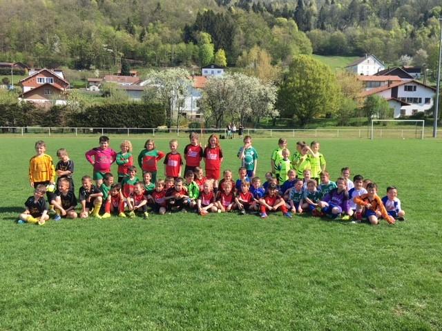 U7 et U9 du FCB et des clubs voisins