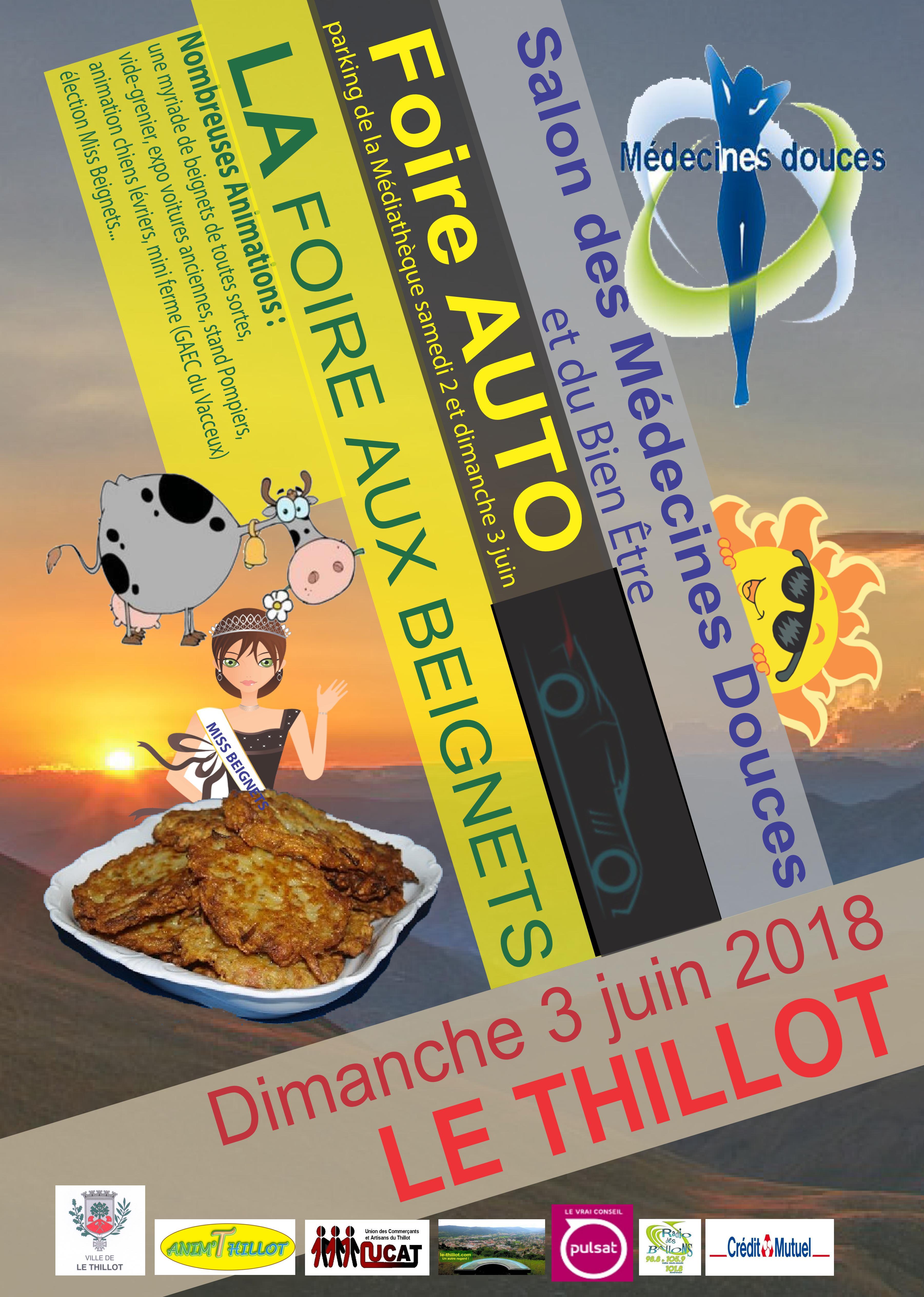 Affiche Foire aux Beignets 2018