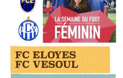 Affiche foot féminin 2 juin
