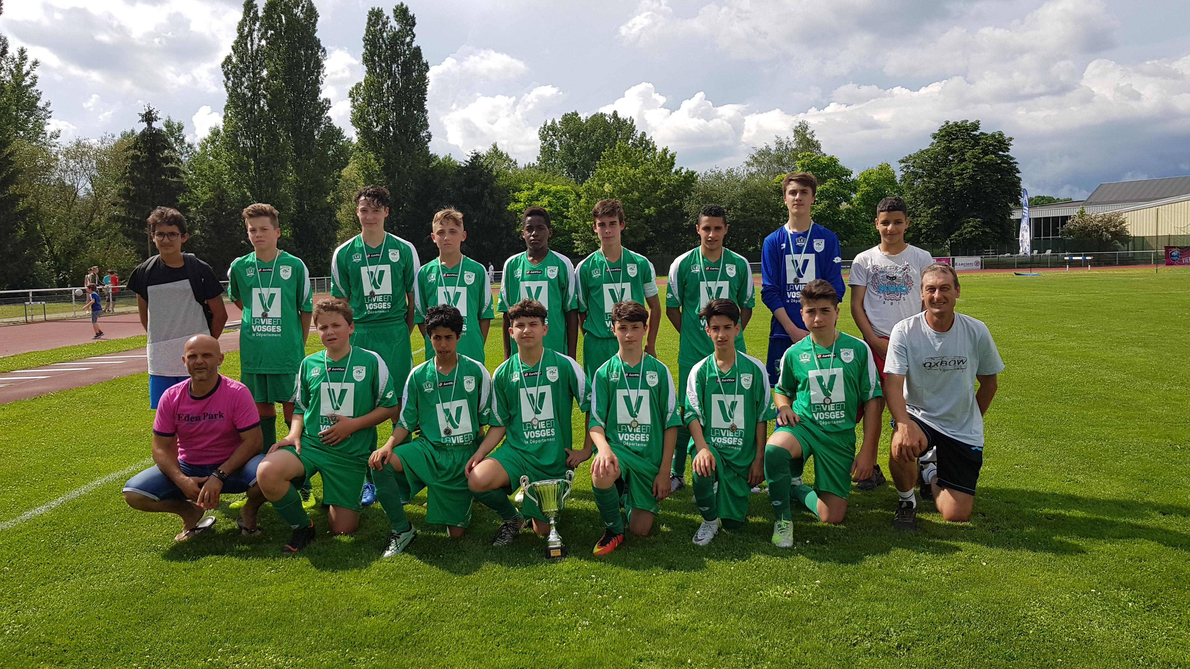 10 juin Finale coupe des Vosges