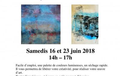 Flyer acrylique juin 2018