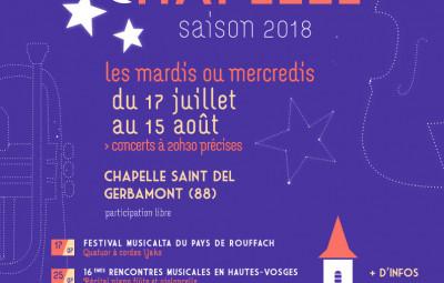 2018 affiche