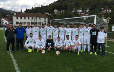 Le Football-club de la Haute-Moselotte, championne des Vosges, monte en Régionale 3.
