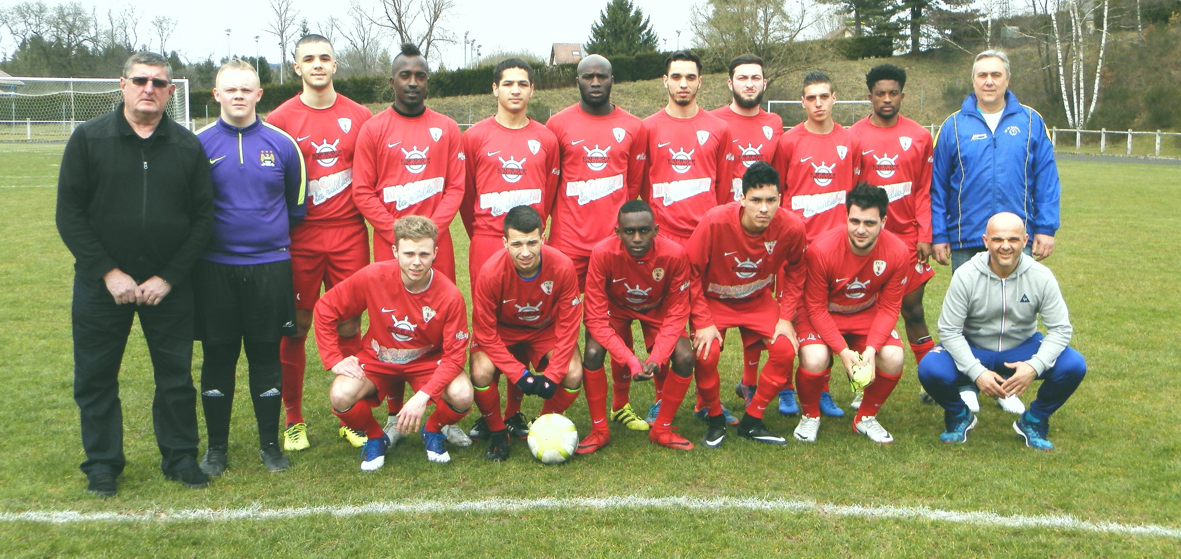Le FC Remiremont monte en Régionale 3.