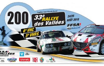 33ème rallye des Vallées