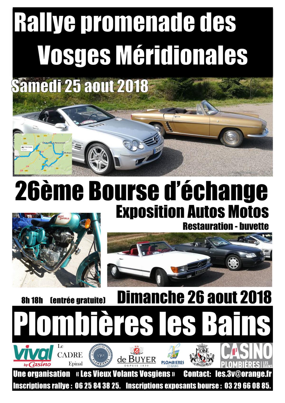Rallye promenade des Vosges Méridionales