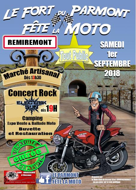 affiche fete ds la moto facebook