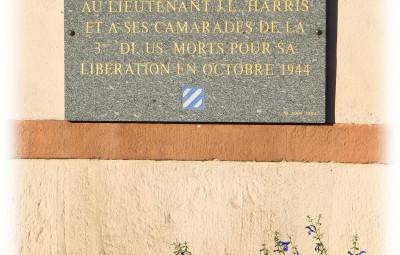 stèle lieutenant Harris