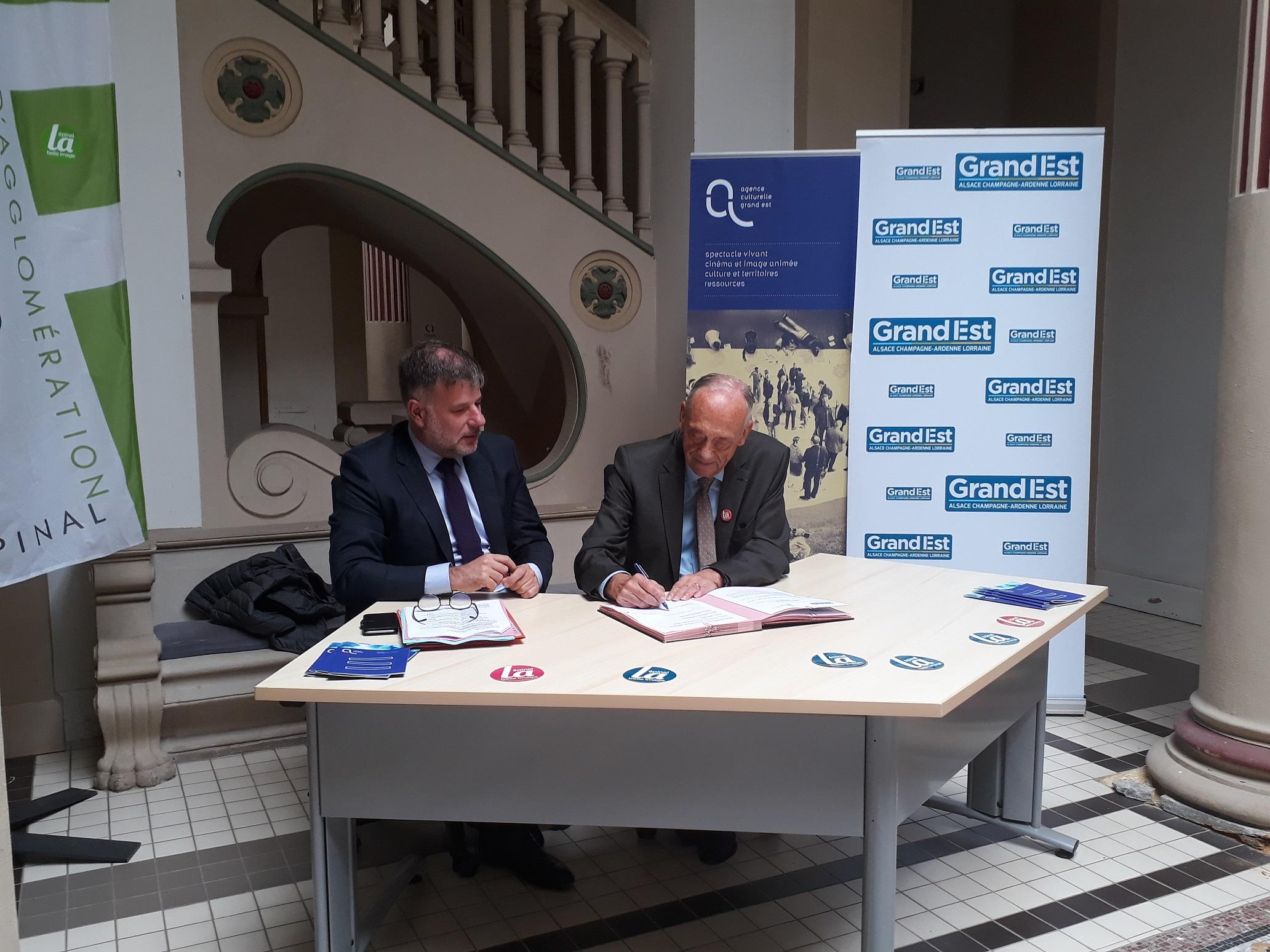 Signature convention Plato Epinal_Région Grand Est