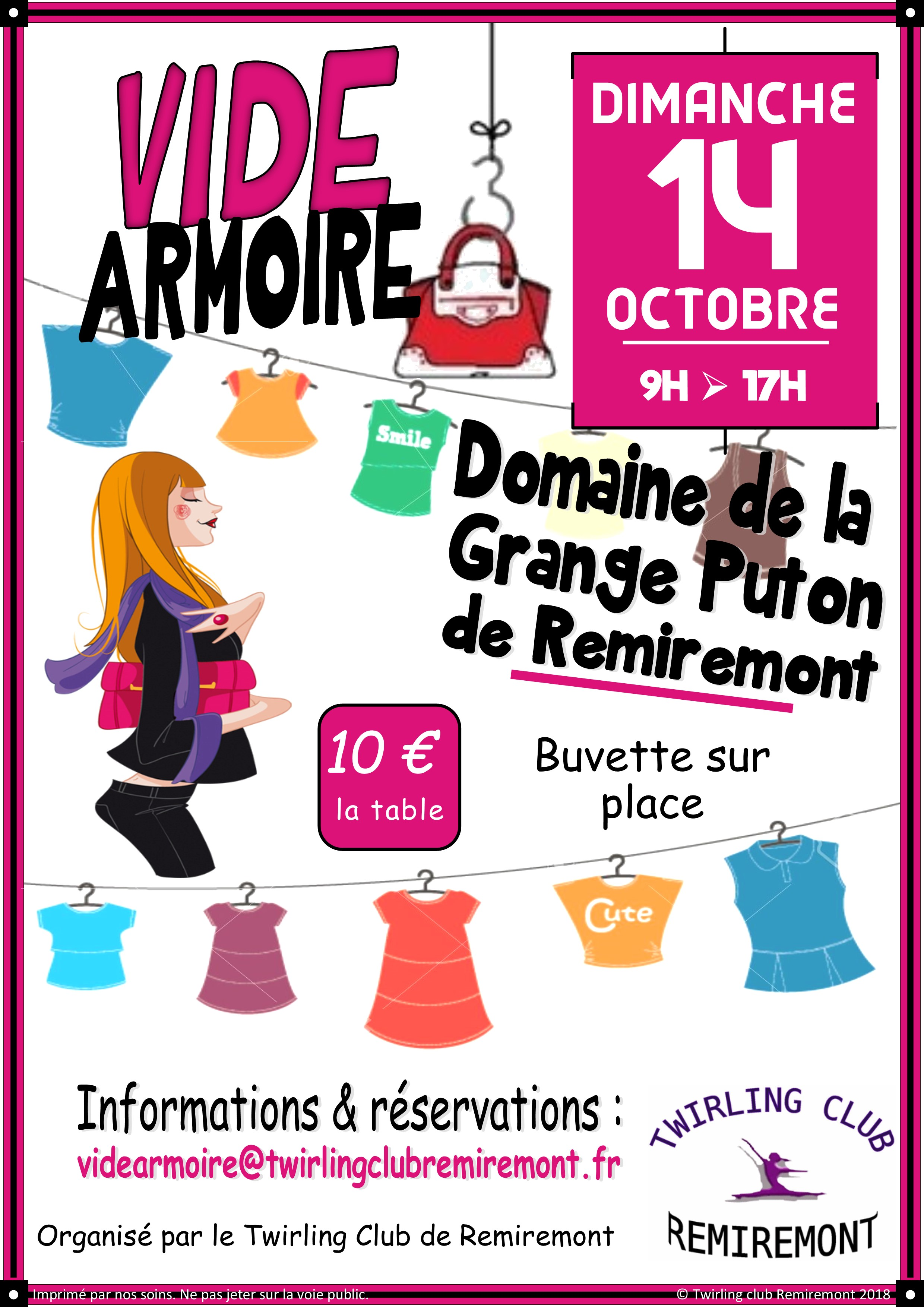 Vide armoires 2018