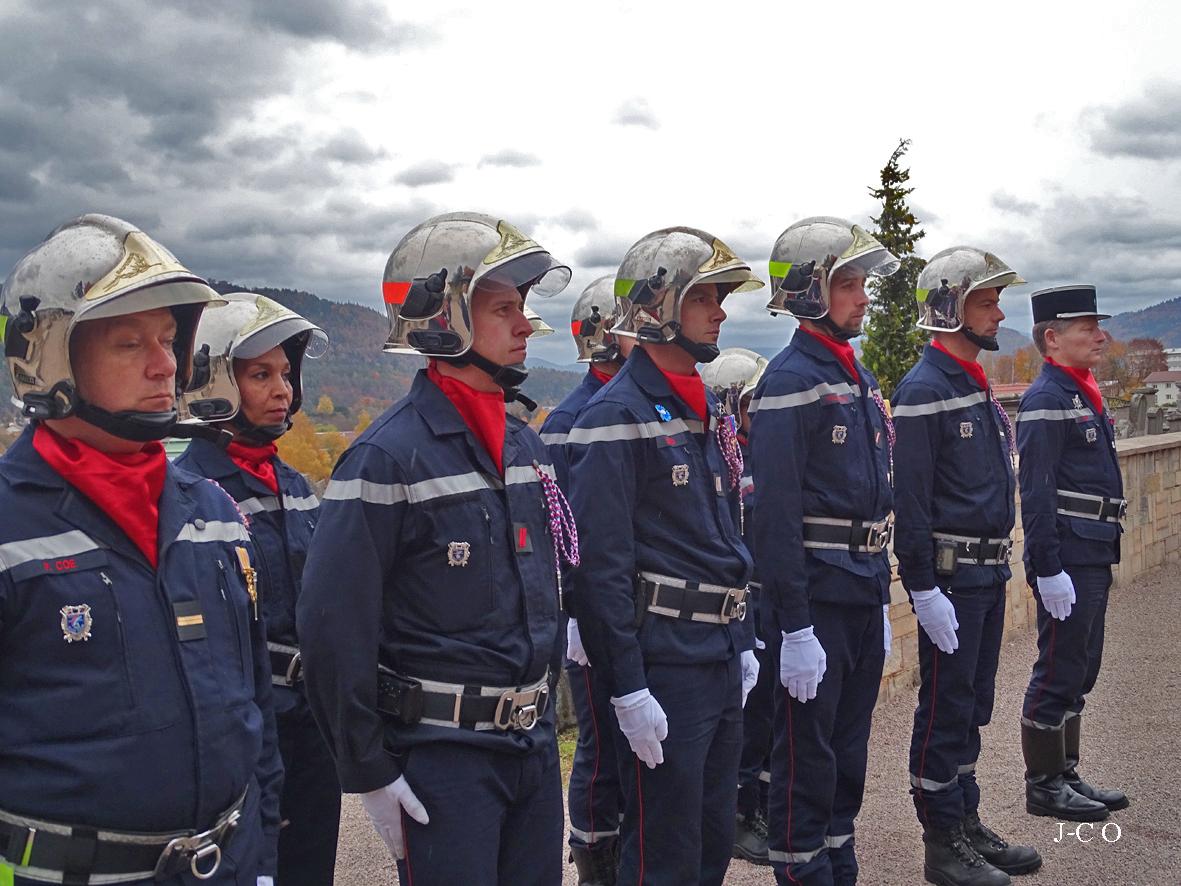 01 Hommage le 10-11-18 des pompiers (4)