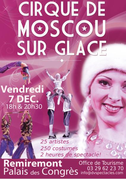 Cirque de Moscou sur glace