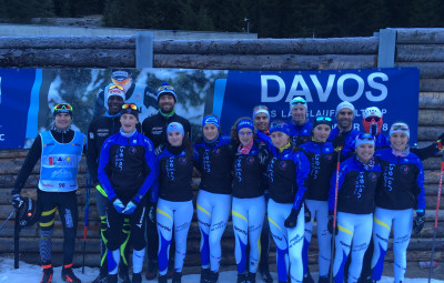 Stage sur neige snowfarming à Davos.