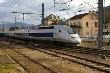 TGV au départ de Remiremont