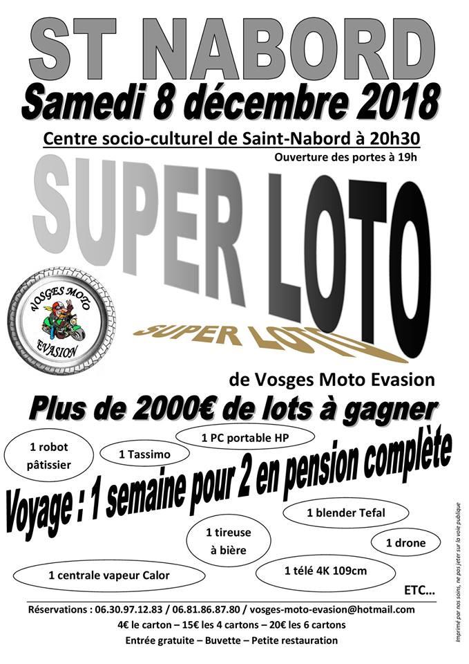 super loto le 8 décembre avec vosges moto évasion
