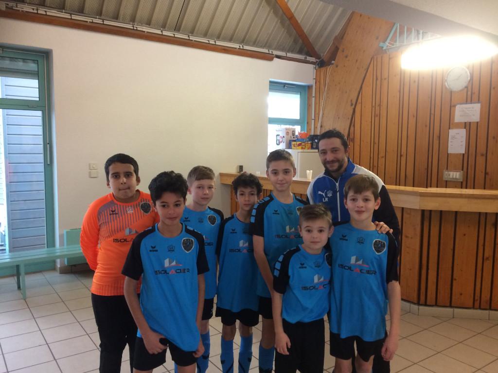 U11 équipe 2 Futsal 12 janvier 2019