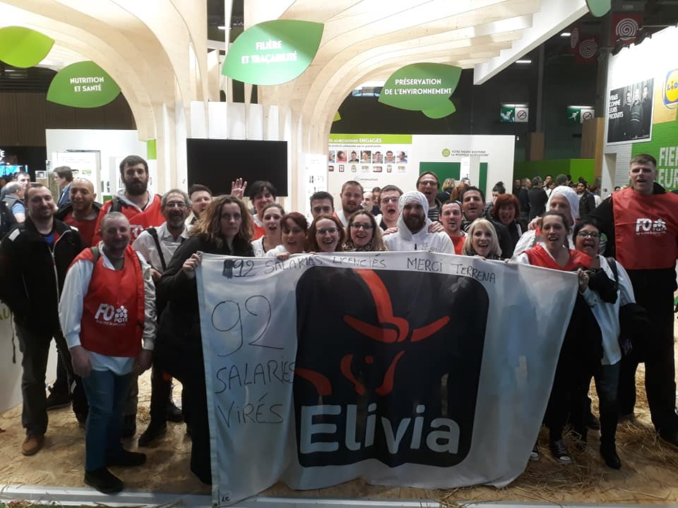 Elivia manifestation sur le stand de terrena au salon de l 39 agriculture paris remiremont info - Adresse salon agriculture ...