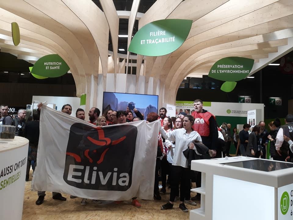 Elivia manifestation sur le stand de terrena au salon de l 39 agriculture paris remiremont info - Salon agriculture adresse ...