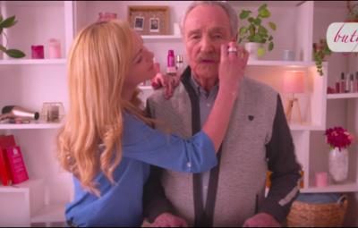 Aurore Selier et Claude Vanony dans le premier clip  diffusé