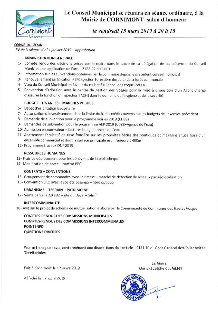 ORDRE DU JOUR CONSEIL MUNICIPAL VILLE DE CORNIMONT-page-001