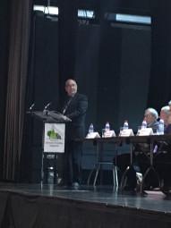 René Maillard débute sa dernière année de mandature en tant que président de l'association des communes forestières vosgiennes.
